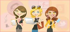 """A really brilliant web site promoting Netchicks Marketing, a """"creative business boutique"""" & business assisting service. 3netchicks.fw"""