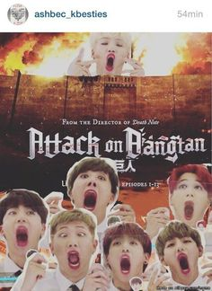 New blockbuster BTS ATTACK ON BANGTAN