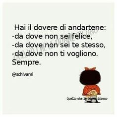Frasi belle sulla vita per immagini whatsapp - StatisticaFacile.it V Quote, Words Quotes, Life Quotes, Italian Love Quotes, Phrases About Life, Italian Phrases, Snoopy Quotes, The Ugly Truth, Good Thoughts