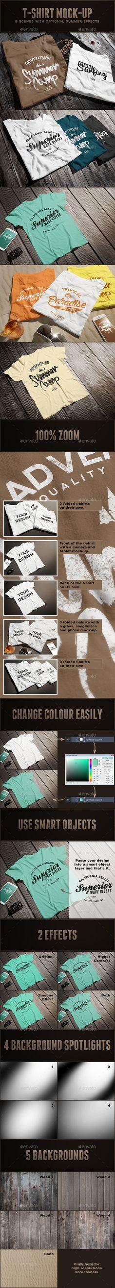 Male T-shirt Mock-up #desgn Download: http://graphicriver.net/item/male-tshirt-mockup/12581629?ref=ksioks