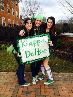 Kappa Delta Bid Day #KappaDelta #KD #BidDay #sorority