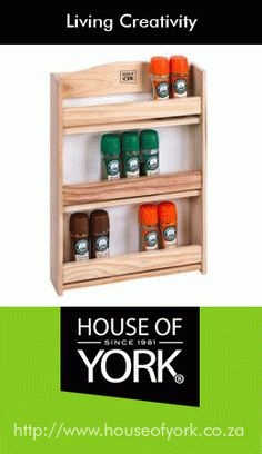 House of York range of products include custom made bamboo and other homeware decor items. 3 Tier Spice Rack, House Of York, Wooden Kitchen, Kitchenware, Decorative Items, Home Goods, Household, Curry, Spices