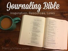 My Start with the Journaling Bible {Resources}