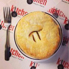 Kitchen 208's Chicken Pot Pie for Pi Day 2014.