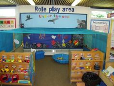Role play area.