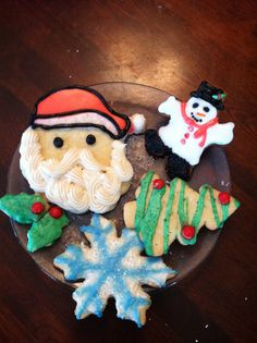 My Christmas Cutout cookies this year! 2011
