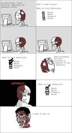How to respond to ethnicity questions - Read the best rage comics.