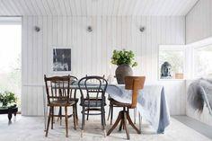 comedor/ Una casa de estilo boho e industrial #hogarhabitissimo #sillas