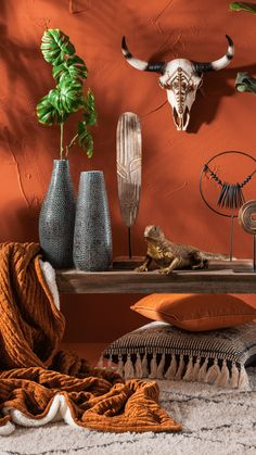 Warm is de trend - Lilly is Love Color Terracota, Warm Colors, Colours, Interior Design Masters, House Color Palettes, House Paint Interior, African Home Decor, Color Plan, Gypsy Decor