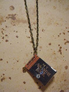 Disney Pixar's Up Inspired - My Adventure Book Charm Necklace. £8.00, via Etsy.