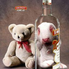 Smrinoff Vodka: It's what gonna happen with you……