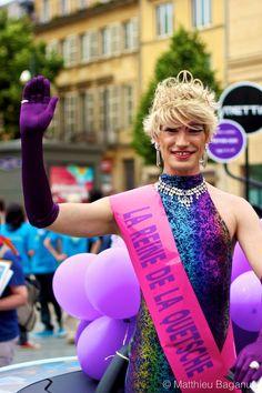 Photo de la Reine de la Quetshe - Gay Pride à Metz