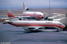 L-1011 Tristar B-737-200 @SFO