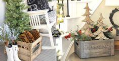 Décorer des caisses en bois pour Noel! 16 idées inspirantes Décorer des caisses en bois pour Noel. Voici pour vous aujourd'hui une petite sélection de 16 idées créatives pour créer de jolies décorations avec des caisses en bois pour Noel! Laissez-...