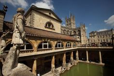 The Roman baths | The Travel Masters