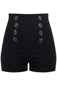Pantalon corto alto                                                       …