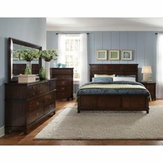 6PC866SONOMA66 Standard Furniture 6-Piece King Bedroom Set