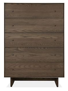 Hudson Dressers with Wood Base - Dressers - Bedroom - Room & Board