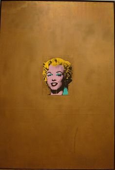 Gold Marilyn Monroe - Andy Warhol, 1962 Silkscreen.