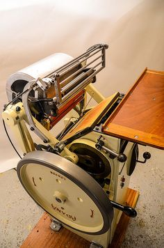 Letterpress - Adana P71 platen press | Flickr - Photo Sharing!