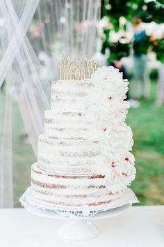Sommer, Love & Party – das wohl schönste Gartenhochzeitsfest @Hilal and Moses http://www.hochzeitswahn.de/inspirationen/sommer-love-party-das-wohl-schoenste-gartenhochzeitsfest/ #wedding #weddingcake #cake