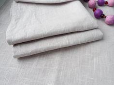 Linen Napkins. Pale lilac napkins. Dinner Linen napkins