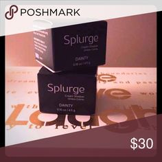 """NIB 2 💋 Younique Splurge Cream Eyeshadow Dainty New, In box. (Price is for 2) Splurge Cream Shadows. """"A high-density, velvety-smooth cream eye shadow. For extravagant lids that glisten, look no further than Splurge-luxurious, long-wearing cream shadow fit for a queen. With this elite eye shadow and its velvety opulence, you'll turn heads wherever life takes you, from a night out in your best dress to running errands...""""   (Please refer to Younique's website for color photos as someone keeps…"""