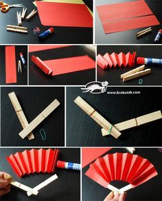 DIY Easy hand fan