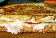 From Meme and Me – Fontina and Beefsteak Tomato Grilled Cheese | Grilled Cheese Social