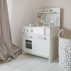 Houten speelkeuken zacht grijs Style Retro, Deco, Kids Bedroom, Washing Machine, Playroom, Home Appliances, France Bleu, Crafting