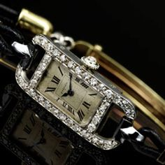 Watch belonging to the Duchess of Windsor.