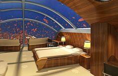 Nautilus Suite, Poseidon Undersea Resort, Fiji (Courtesy of Poseidon Undersea Resort)