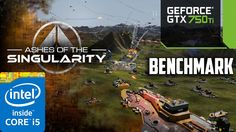 Ashes of the Singularity | benchmark | gtx 750 Ti