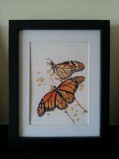 Butterfly's by Darren Graham of ephraim art studio. Woman Painting, Free Paper, Something Beautiful, Online Gifts, Watercolor Print, All Print, Delicate, Butterfly, Fine Art