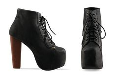 Chunky LITA lace up platform shoe boot 90s by ElectricGypsyLand, €26.00    I am obsessed with these.