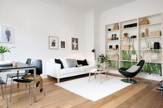 Swedish Apartment with a Green Touch | Nordic Days