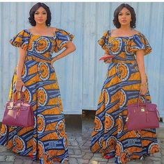 African American Fashion, Latest African Fashion Dresses, African Dresses For Women, African Print Dresses, African Print Fashion, African Attire, African Women, Ankara Fashion, Ankara Maxi Dress
