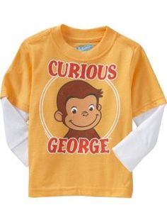 Curious George - his favorite!