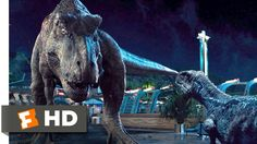 Jurassic World (10/10) Movie CLIP - Dinosaur Alliance (2015) HD