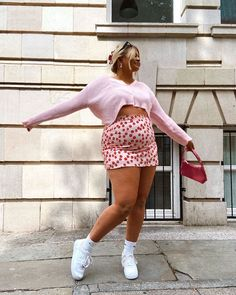Thick Girls Outfits, Curvy Girl Outfits, Girls Summer Outfits, Plus Size Outfits, Fat Fashion, Curvy Girl Fashion, Plus Size Fashion, Indie Outfits, Trendy Outfits