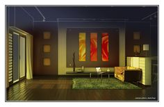 #render #vray #natural_lighting #interior