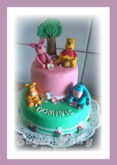 Torte zur Taufe /  Cake for babtism