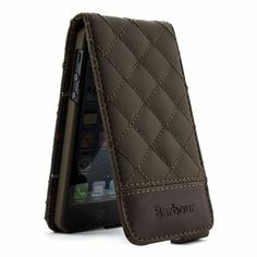 Barbour iPhone 5 Cover – Quilted Flip - Terracota