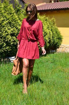Paula Echevarría con vestido de Hakei.
