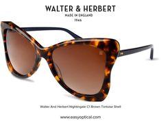 Walter and Herbert Nightingale Nightingale, Black Sunglasses, England, Brown, Style, Swag, Brown Colors, English, British