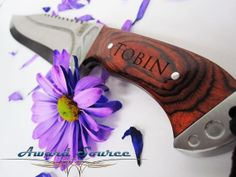 Valentine's Day Gift Best Man Gift Personalized by KnifePro