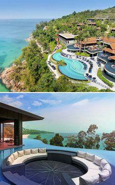 The Peninsula Hong Kong in Kowloon - Vossy Beach Resorts, Hotels And Resorts, Pullman Phuket, Resort Plan, Bungalows, Landscape Architecture Design, Luxury Pools, Resort Villa, Photos Voyages
