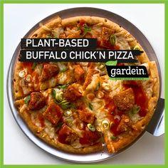 Entree Recipes, Diet Recipes, Vegetarian Recipes, Cooking Recipes, Healthy Recipes, Vegan Foods, Vegan Meals, Crispy Pizza, Vegan Life