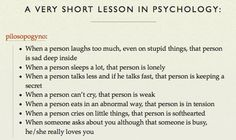 Short lesson in Psychology. When someone asks about you although that someone is busy, he/she really loves you. When a person can't cry, that person is weak. Weird Facts, Fun Facts, Random Facts, Daily Quotes, Me Quotes, Psycho Quotes, Crush Quotes, A Guide To Deduction, Sleeping A Lot