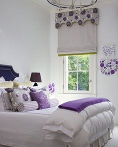 Different shades of purpleCredit??... - Home Decor For Kids And Interior Design Ideas for Children, Toddler Room Ideas For Boys And Girls